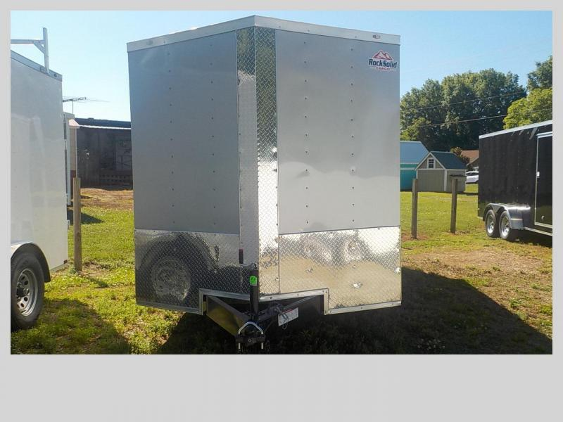 2019 Rock Solid Cargo RS7X14TA Enclosed Cargo Trailer in Cleveland, NC