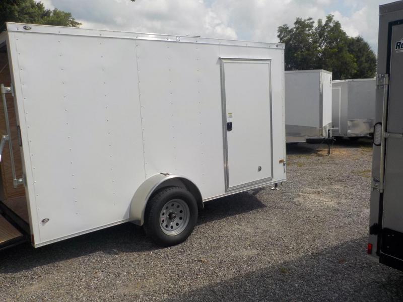 2019 Rock Solid Cargo RS6X12SA Enclosed Cargo Trailer w/Ramp Door