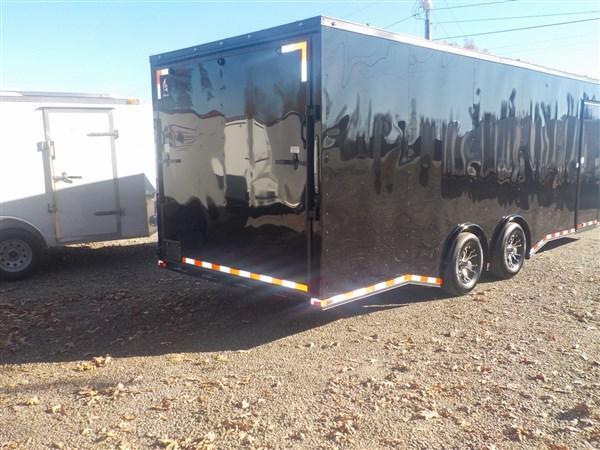 2019 Spartan 8.5 x 24 Car Hauler Black Out Package