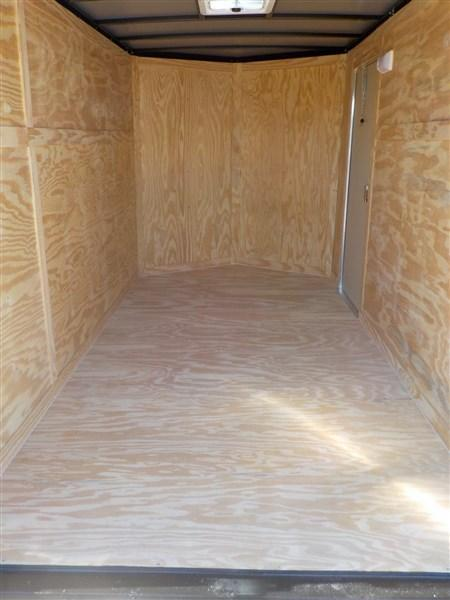 2018 Spartan 6 x 12 3K Enclosed Cargo Trailer WITH RAMP IN WHITE