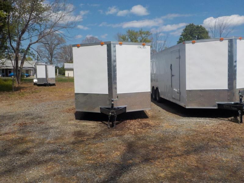 2019 Cynergy Cargo CCL 8.5 x 24 TA Car / Racing Trailer