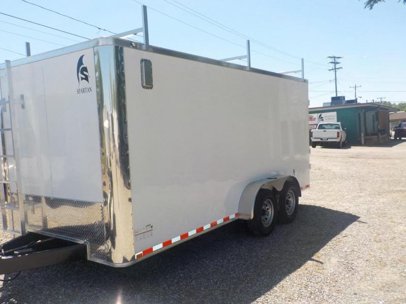 2019 Spartan SP7X16TA Enclosed Cargo Trailer