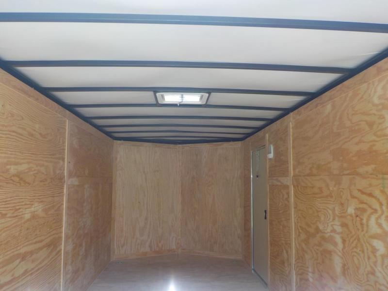 2019 Rock Solid Cargo RS 7 x 14 TA 7K Enclosed Cargo Trailer
