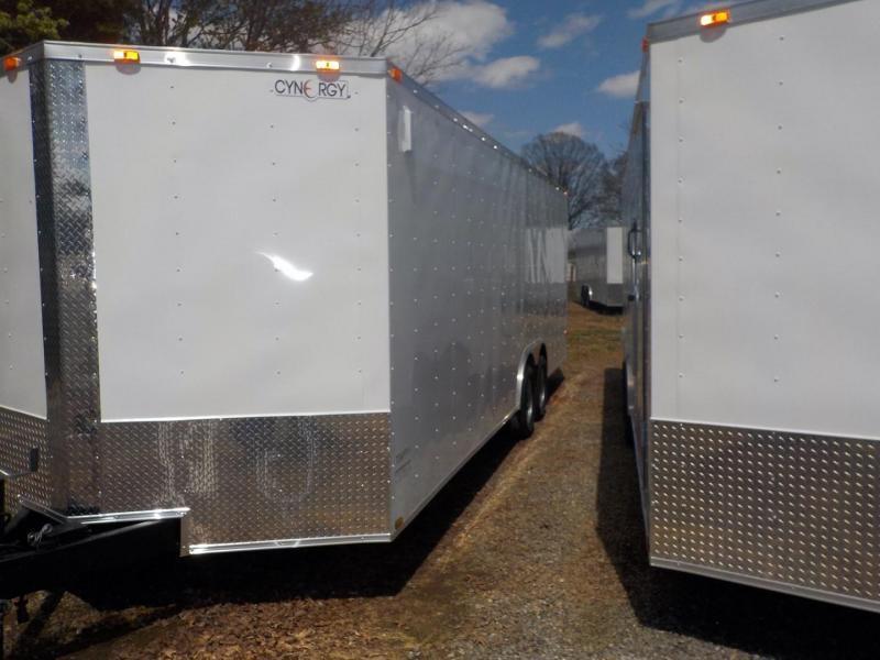 2020 Cynergy Cargo CCL 8.5 X 20 TA2 Enclosed Cargo Trailer