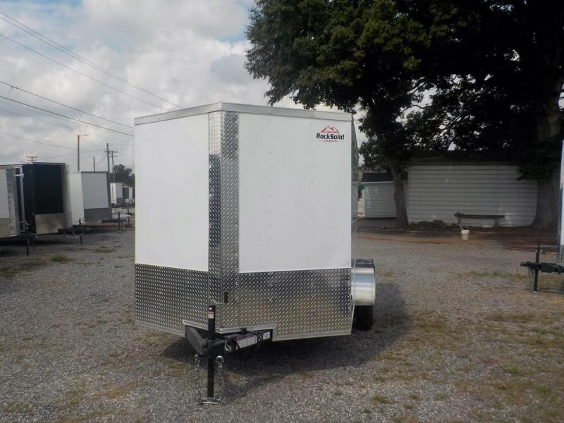 2019 Rock Solid Cargo RS7X12TA Enclosed Cargo Trailer in Tuxedo, NC
