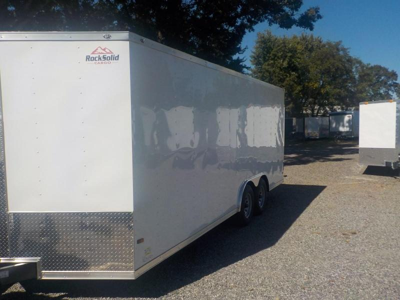 2019 Rock Solid Cargo RS8.5X20TA Car / Racing Trailer