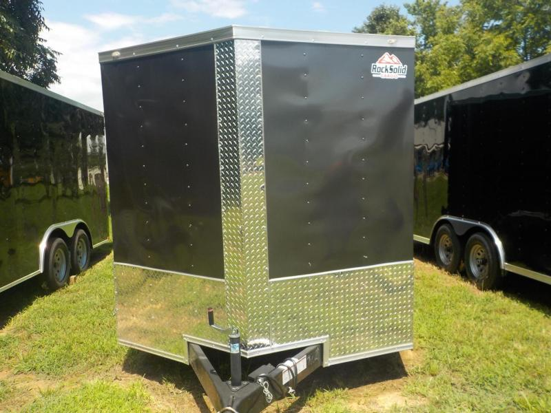 2019 Rock Solid Cargo RS 7 x 14 TA Enclosed Cargo Trailer