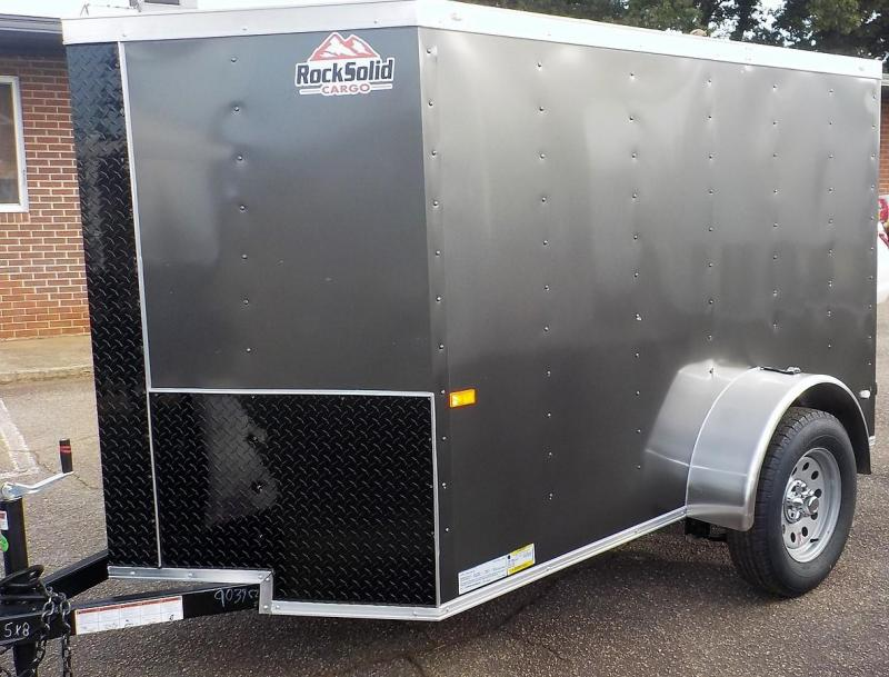 2019 Rock Solid Cargo RS 5 X 8 SA Enclosed Cargo Trailer