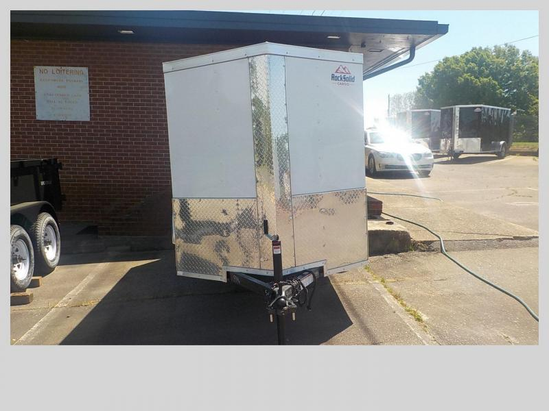 2019 Rock Solid Cargo RS5X10SA Enclosed Cargo Trailer in Mills River, NC