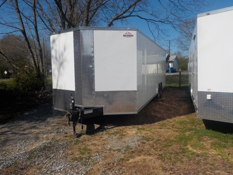 2019 Rock Solid Cargo RS8.5X28TA3 Car / Racing Trailer in Clinton, SC
