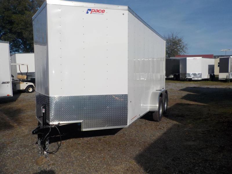 2019 Pace American JV7X14TE2 Enclosed Cargo Trailer w/Ramp Door in Blacksburg, SC
