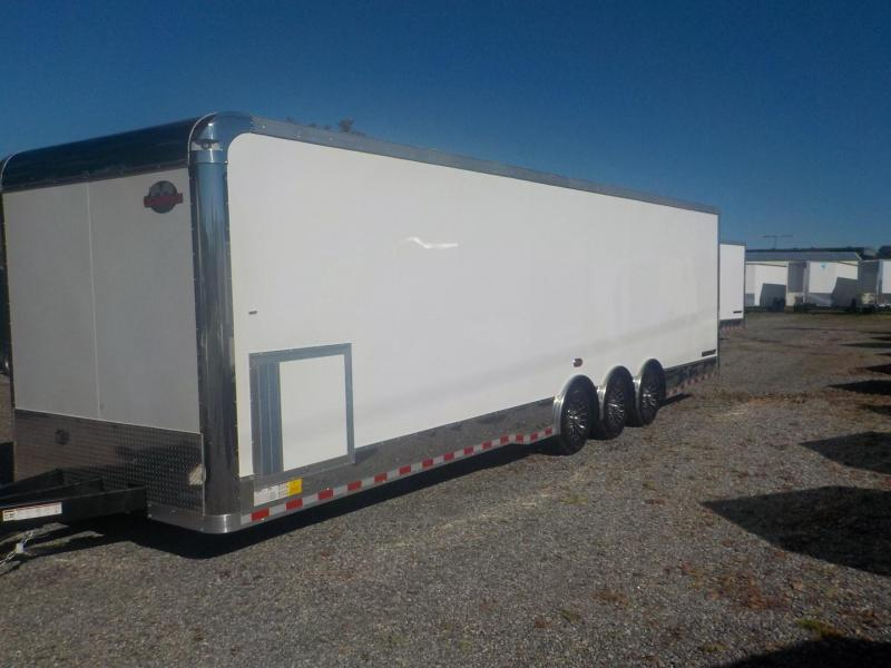 2019 Cargo Mate GAEL8.5 X 32TTA4 Car / Racing Trailer in White Stone, SC