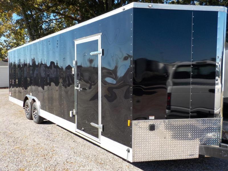 2019 Cargo Mate GAN8.5X28TA3 Car / Racing Trailer in White Stone, SC