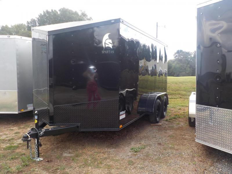 2019 Spartan SP7X12TA2 Enclosed Cargo Trailer in Crumpler, NC