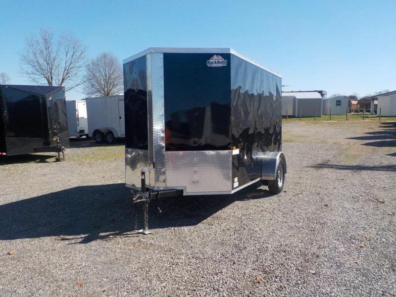 2019 Rock Solid Cargo RS 6 x10 SA Enclosed Cargo Trailer