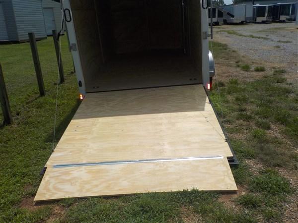 2019 Rock Solid Cargo 7 x 16 TA Enclosed Cargo Trailer with Ramp Door