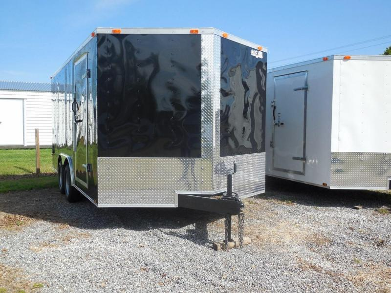 2019 Cynergy Cargo CCL8.5 X 16 TA2 Enclosed Cargo Trailer in Mills River, NC
