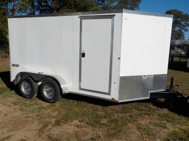 2019 Pace American JV7X12TE2 Enclosed Cargo Trailer w/Ramp Door
