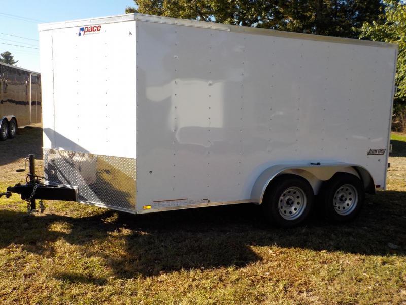 2019 Pace American JV7X12TE2 Enclosed Cargo Trailer w/Ramp Door