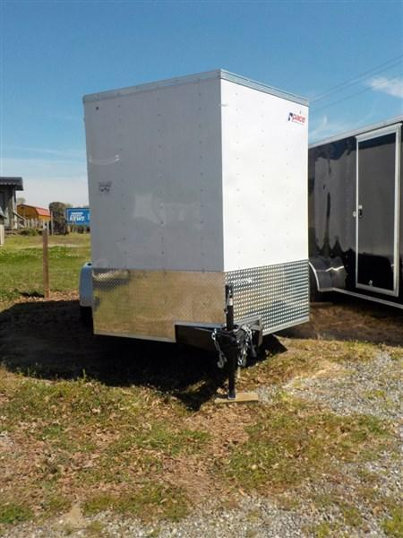 2019 Pace American Journey Wedge 7 x 12 TA Enclosed Cargo Trailer