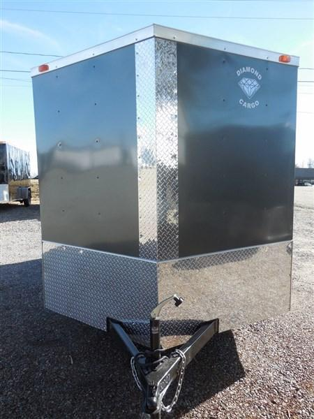 2019 Diamond Cargo 7 x 12 TA 7K Enclosed Cargo Trailer With Ramp in Winnsboro, SC