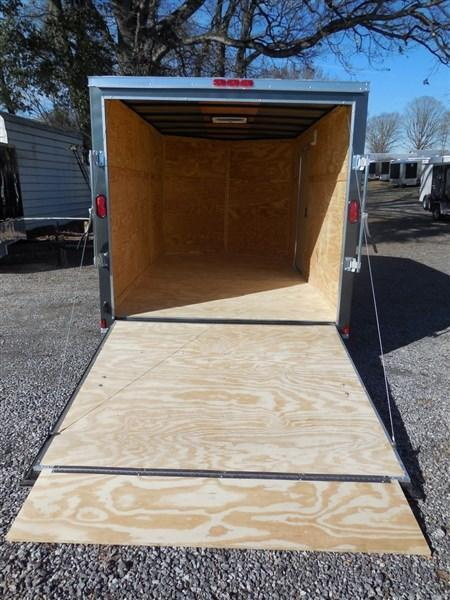 2019 Diamond Cargo 7 x 12 TA 7K Enclosed Cargo Trailer With Ramp