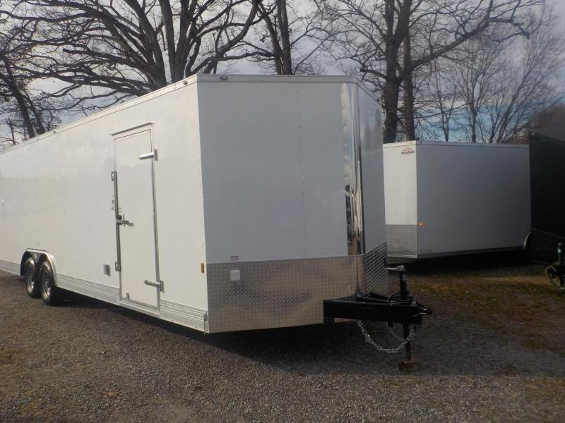 2019 Cargo Mate GANS8.528TA3 Car / Racing Trailer in White Stone, SC