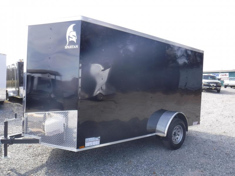 2019 Spartan SP6X10SA Enclosed Cargo Trailer W/Ramp Door