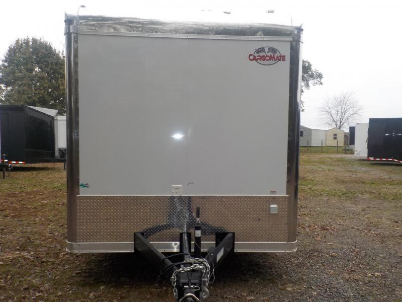 2019 Cargo Mate GAEL8.5X32TTA4 Car / Racing Trailer in White Stone, SC