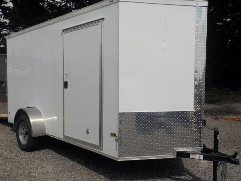 2019 Rock Solid Cargo RS 6 X 12SA Enclosed Cargo Double Rear Doors Trailer