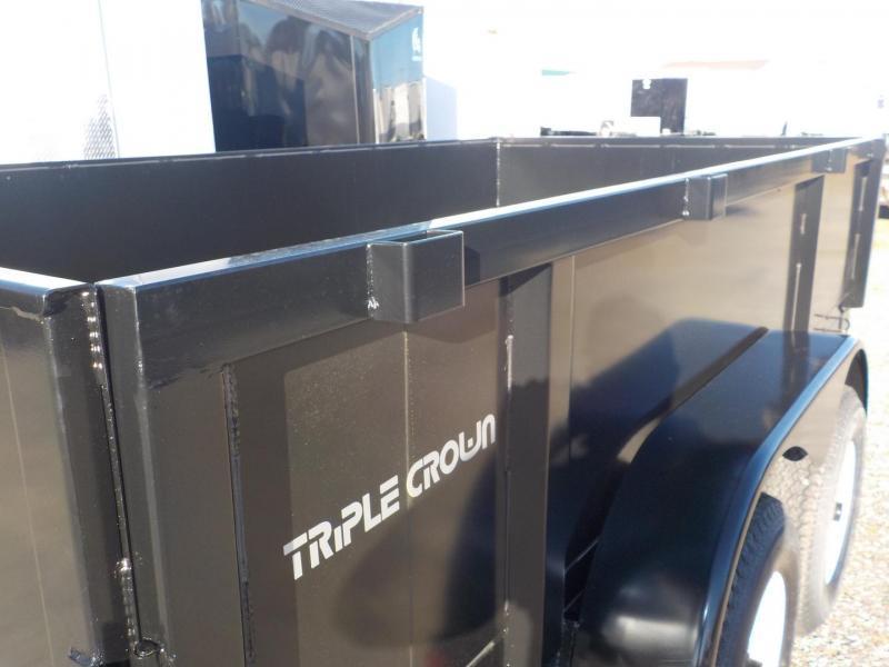 2019 Triple Crown Trailers Low Rider Dump Utility Trailer