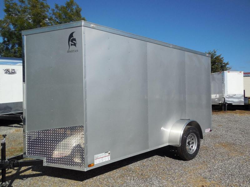 2019 Spartan SP6X12SA Enclosed Cargo Trailer