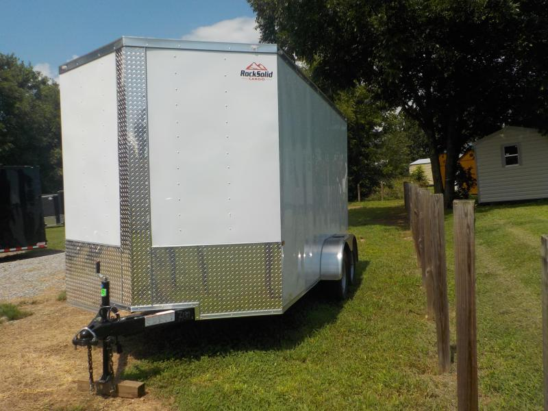 2019 Rock Solid Cargo RS7X16TA Enclosed Cargo Trailer in Dobson, NC