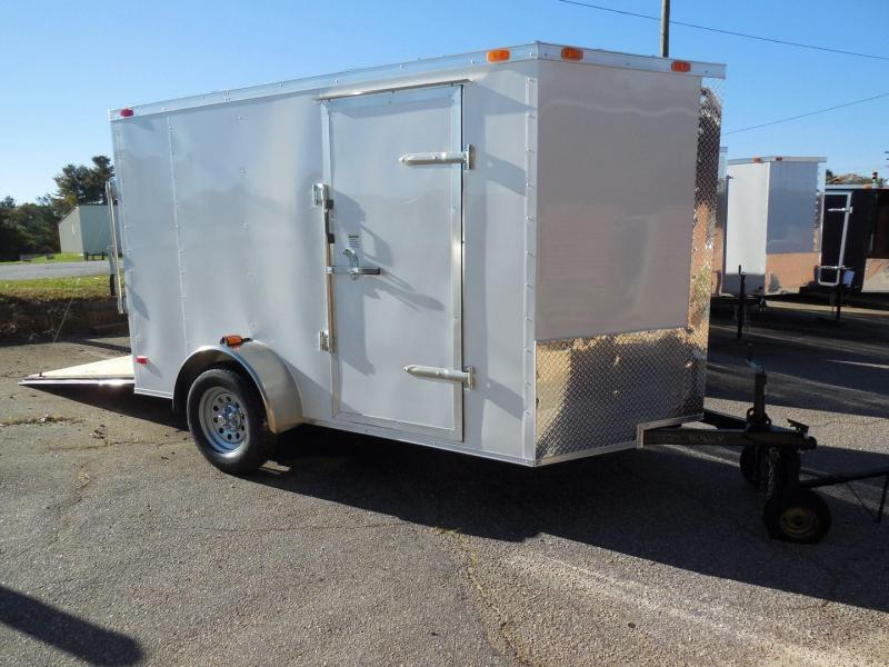 2019 Cynergy Cargo CCL6X10SA Enclosed Cargo Trailer in Mills River, NC