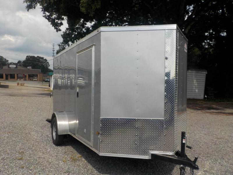 2019 Rock Solid Cargo RS 6 X 12SA Enclosed Cargo Trailer in Marion, NC