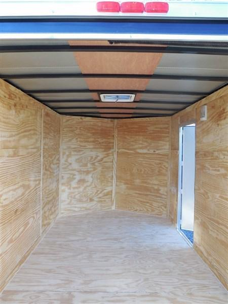 2019 Diamond Cargo 7 x 12 TA 7K Enclosed Cargo Trailer With Ramp
