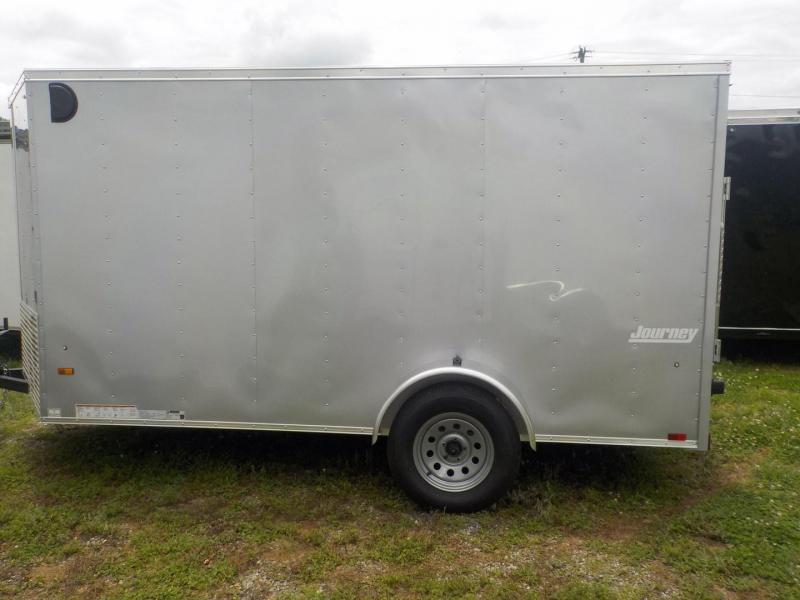 Pace American Journey 6 Wide Single Axle Cargo / Enclosed Trailer W/Ramp Door