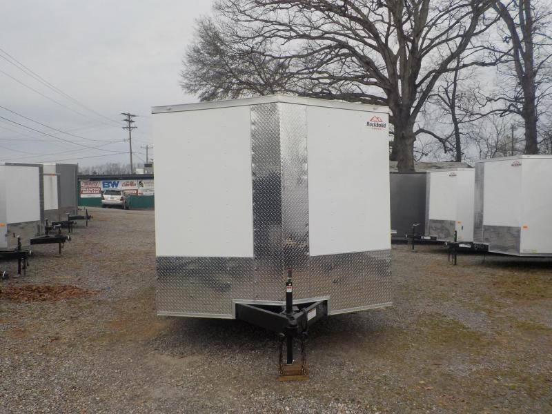 2019 Rock Solid Cargo RS8.5X24TA3 Car / Racing Trailer in White Stone, SC