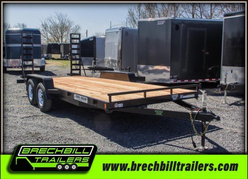2019 Bri-Mar EH18-10ELE Equipment Trailer $89/month