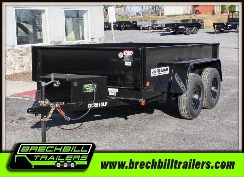 2019 Bri-Mar (DT610LP-10) Dump Trailer $101/month