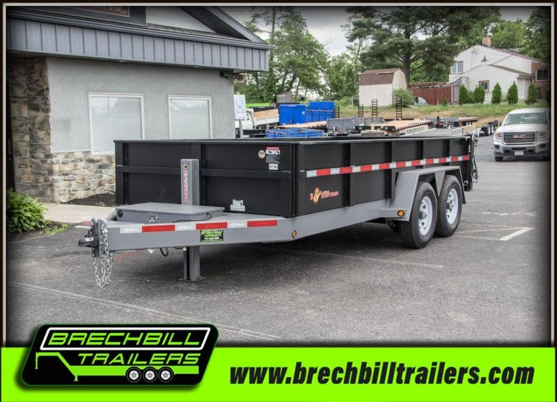 2019 B-Wise DLP16-15 Dump Trailer $208/month in Ashburn, VA