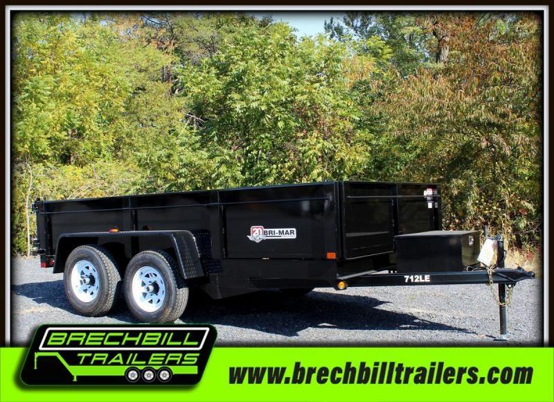 2018 Bri-Mar DT712LP-LE-10 Dump Trailer $135/month