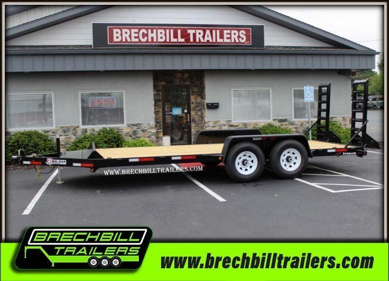 "Bri-Mar Equipment Trailer 82""x18'x12k (EH18-12) $114/month in Ashburn, VA"