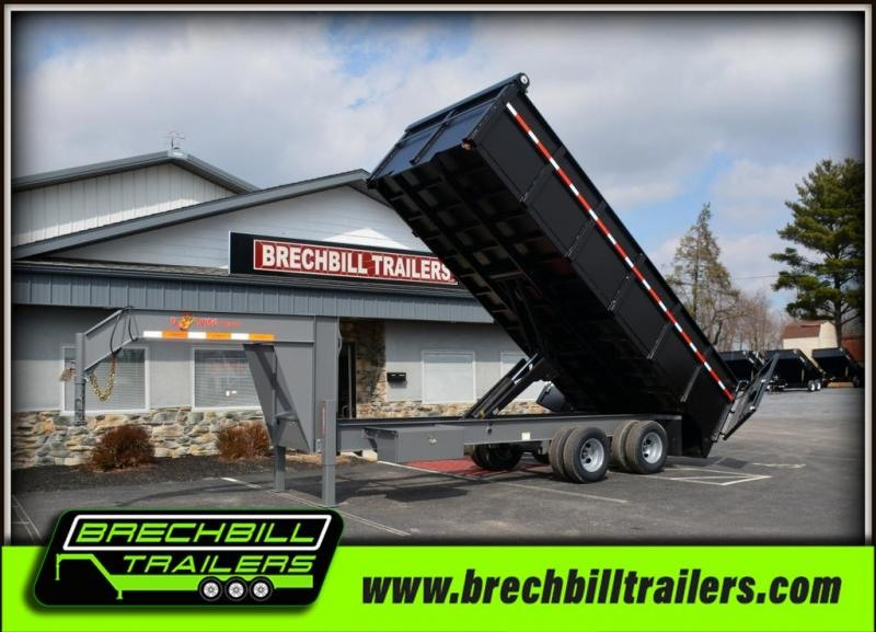 2018 B-Wise DDHG20-25 Dump Trailer $357/month