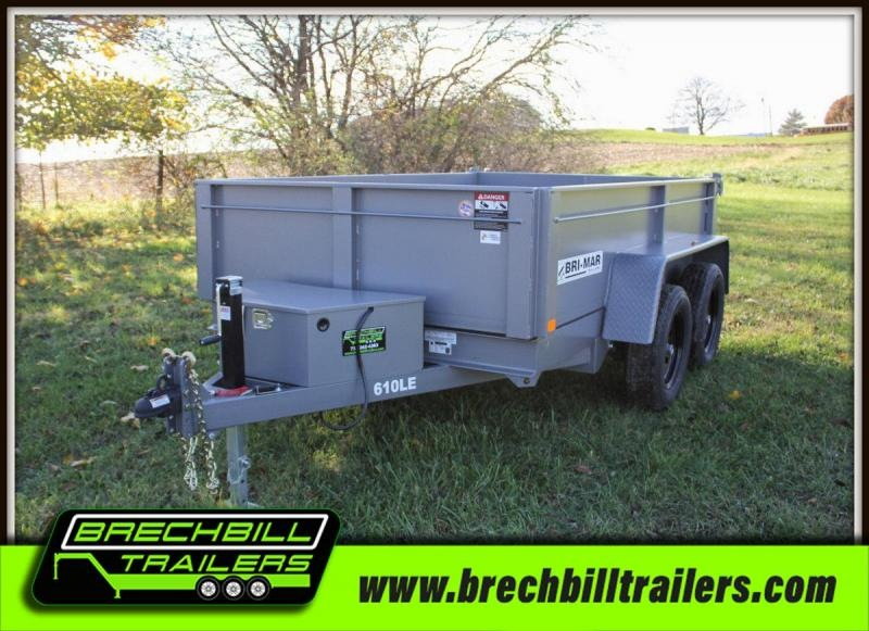 2019 Bri-Mar DT610LP-LE-7 Dump Trailer $118/month in Ashburn, VA