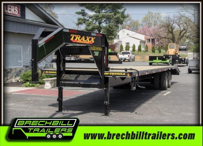 2018 Traxx 40TD GOOSENECK Equipment Trailer in Ashburn, VA