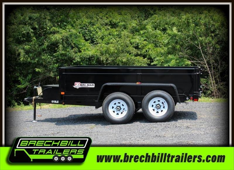 2018 Bri-Mar DT610LP-LE-10 Dump Trailer $123/month