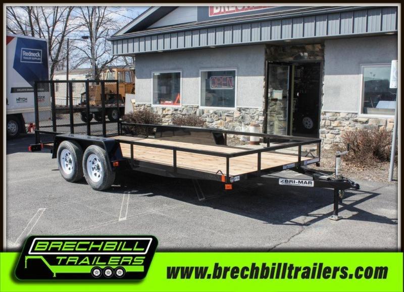 2019 Bri-Mar UTE-616 Utility Trailer in Ashburn, VA