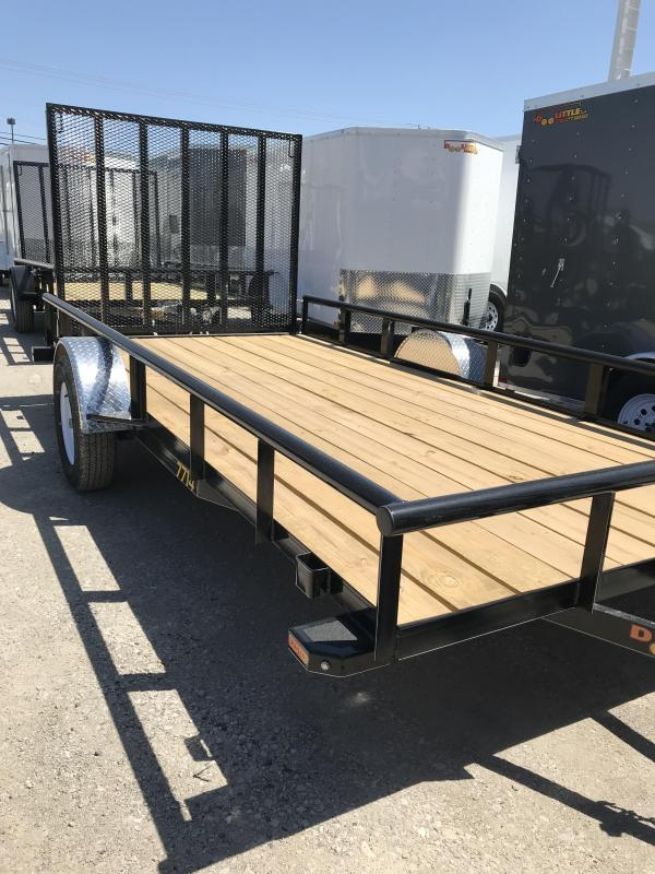 2019 Doolittle Trailer Mfg 770 Series Utility Trailer