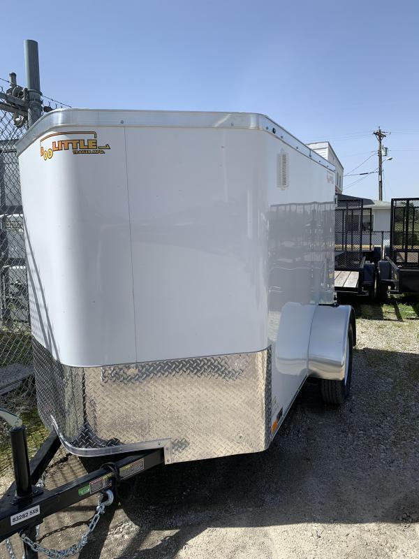 2019 Doolittle Trailer Mfg 5x8 Enclosed Cargo Trailer